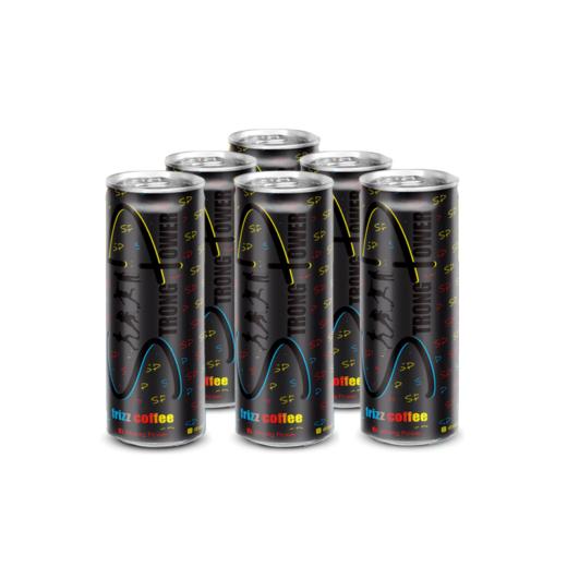 Frizz coffee kávový nápoj- novinka v portfóliu Strong Power